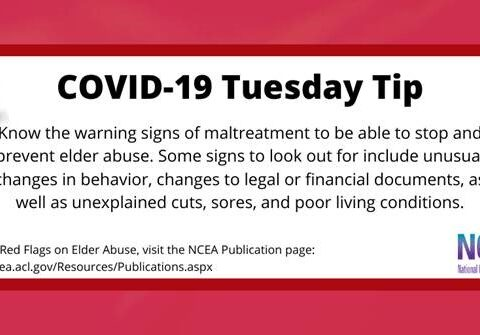 Tuesday Tip for COVID19