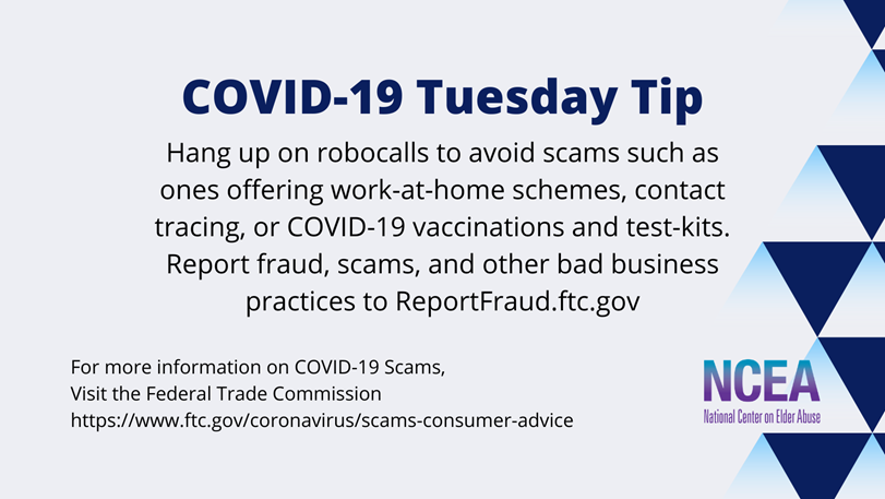 Tuesday Tip for COVID 19