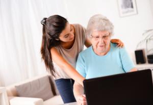 Family Member Financially Exploiting Elder Person