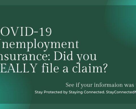 COVID 19 Unemployment Scam